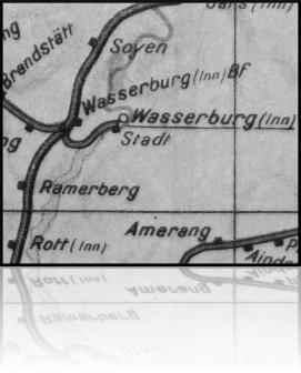 Wasserburg (Inn) Bf - Wasserburg (Inn) Stadt